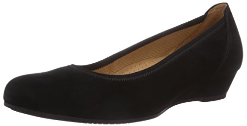 Gabor Shoes Damen Ballerina Pumps, schwarz 47), 43 EU