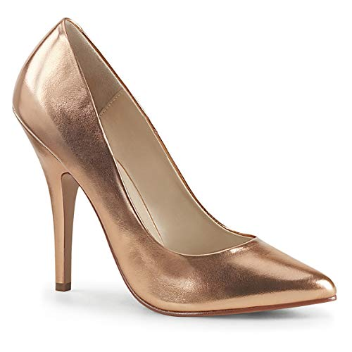 Pleaser Damen SEDUCE 420 High PU Rose Gold EU