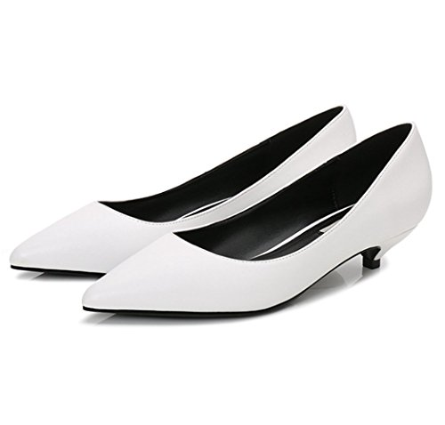 mogeek Damen Fashion Pumps Elegant High Heels Pointed Toe