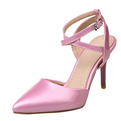 Mee Shoes ankle strap Slingback Pumps