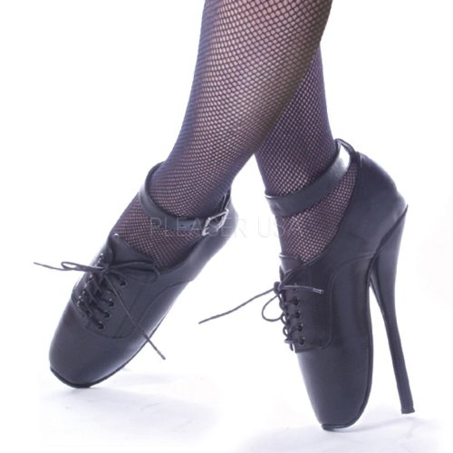 Ballett-High20 - Leder Schwarz 45 EU